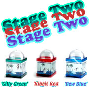 just $14.95 + s&h for lots of Grow-a-frog Stage Two stuff !